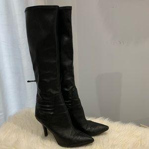 Nine West black boots size 8.5